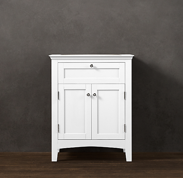 Cartwright powder room vanity base for Vanities for powder rooms