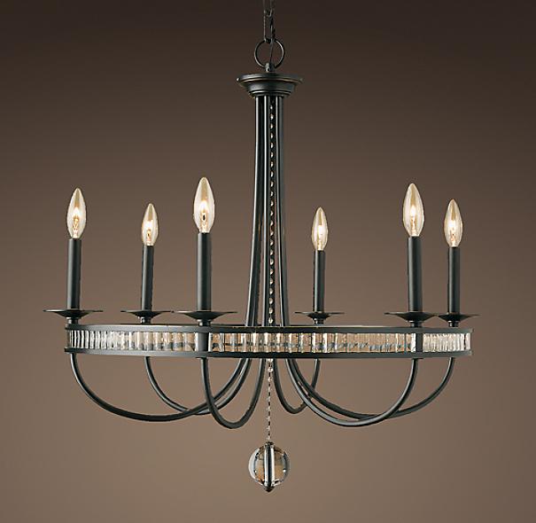 Restoration Hardware Copycat Lighting: Alexandria Chandelier Bronze
