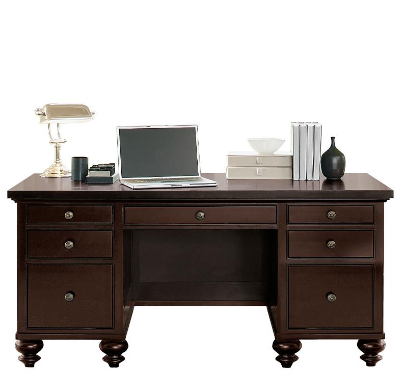 Camden Home Office Desk Dark
