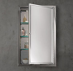 Bathroom Mirror Restoration Hardware all bath mirrors   rh