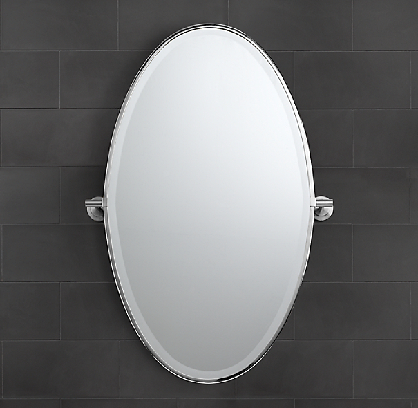 Spritz Oval Pivot Mirror