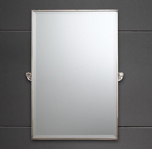 pivot bathroom mirror lugarno traditional pivot mirror 13988