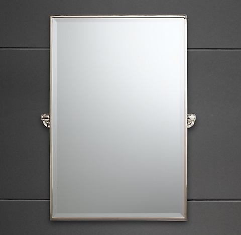 8 Sizes 4 Finishes Lugarno Traditional Pivot Mirror