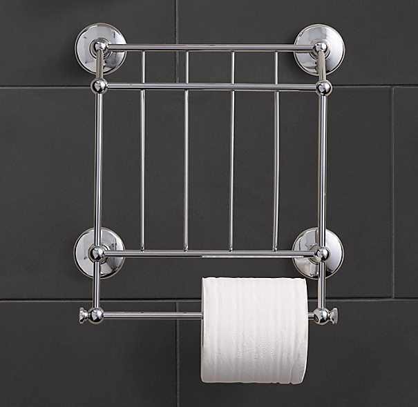 Chatham Magazine Rack With Tissue Holder