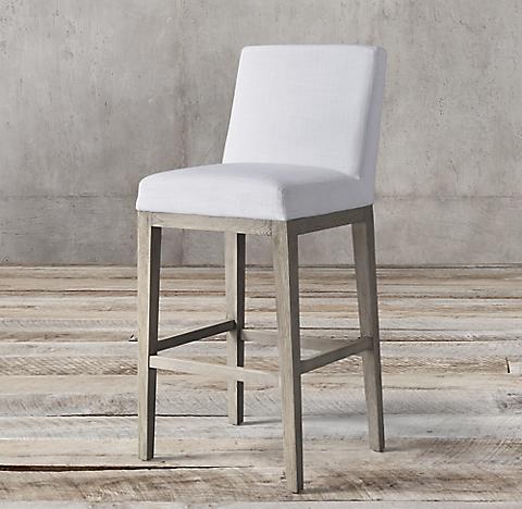Enjoyable Fabric Bar Counter Stools Rh Creativecarmelina Interior Chair Design Creativecarmelinacom