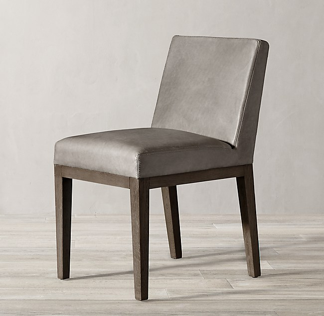 b4e4a83276 Morgan Leather Side Chair