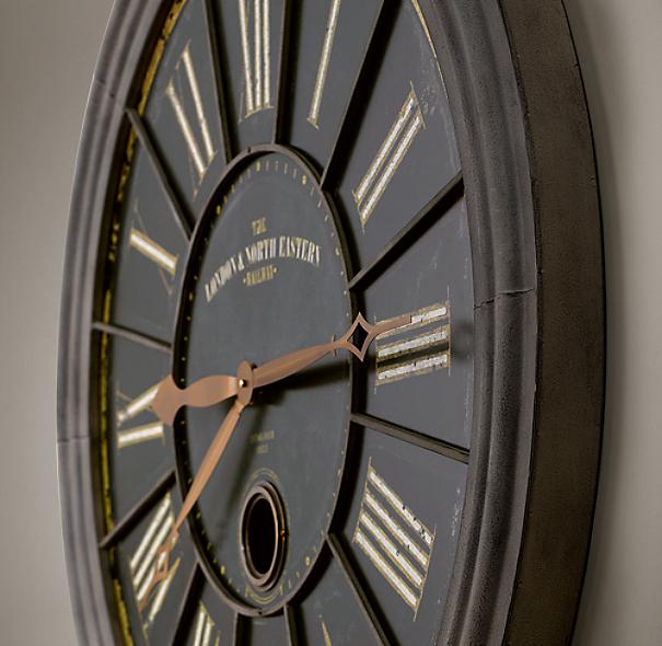 London Rail Clock