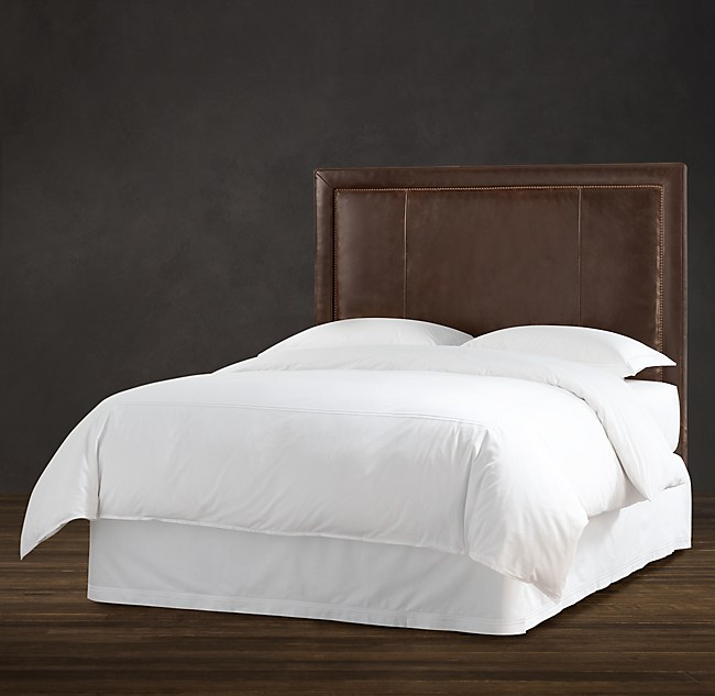 Upholstered Leather Headboard