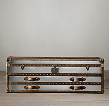 Mayfair Steamer Trunk Low Chest