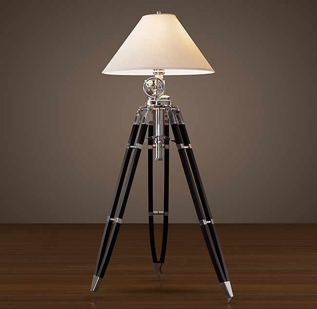 Marine tripod floor lamp royal marine tripod floor lamp aloadofball Images
