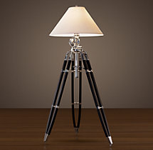 Royal Marine Tripod Floor Lamp