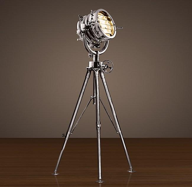 Royal master sealight floor lamp shown in aluminun at 44 diam aloadofball Images