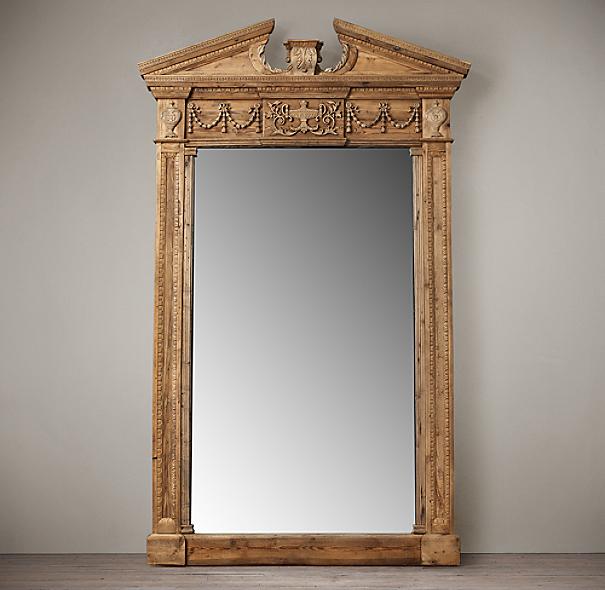 Entablature Mirrors - Natural