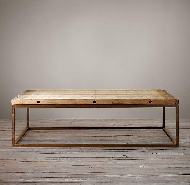 Brickmakers Coffee Table - Brickmakers coffee table