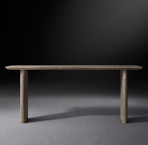 Incredible Console Tables Rh Modern Theyellowbook Wood Chair Design Ideas Theyellowbookinfo