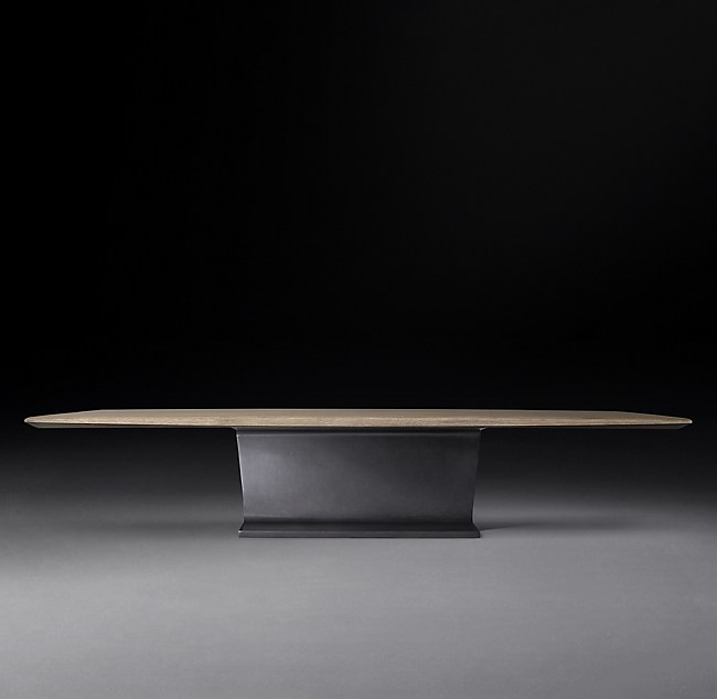I Beam Rectangular Coffee Table