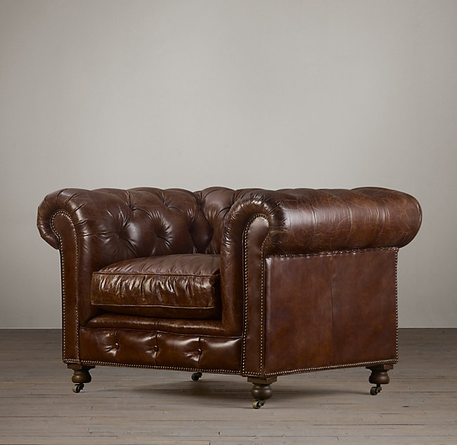 Marvelous Kensington Leather Chair Onthecornerstone Fun Painted Chair Ideas Images Onthecornerstoneorg