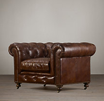 Kensington Leather Chair