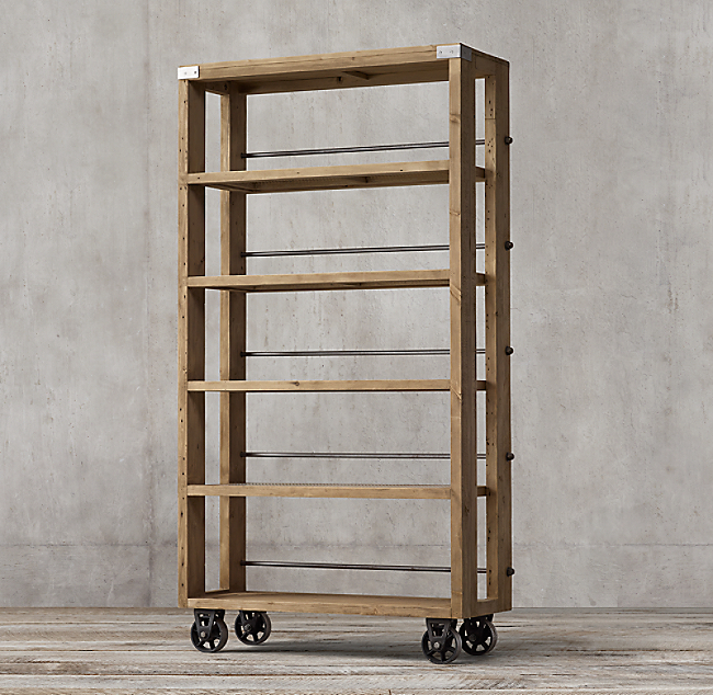 Wood Steel Shelving Color Preview Unavailable