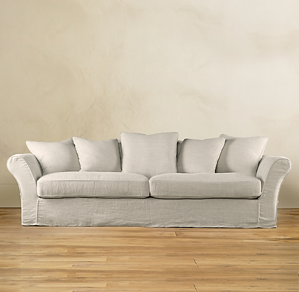 Camelback Slipcovered Sofa