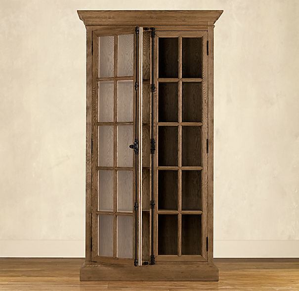 French Casement Cabinet Tall
