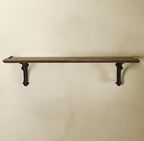 arc bracket wood shelf. Black Bedroom Furniture Sets. Home Design Ideas