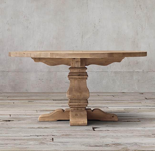 Contemporary prod E F Unique - Cool restoration hardware salvaged wood table In 2019
