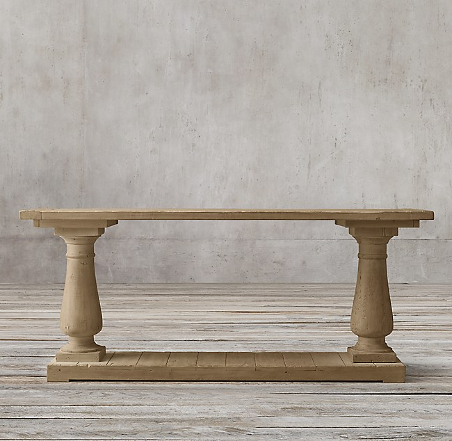 outlet store ada4e 96df9 Balustrade Salvaged Wood Console Table