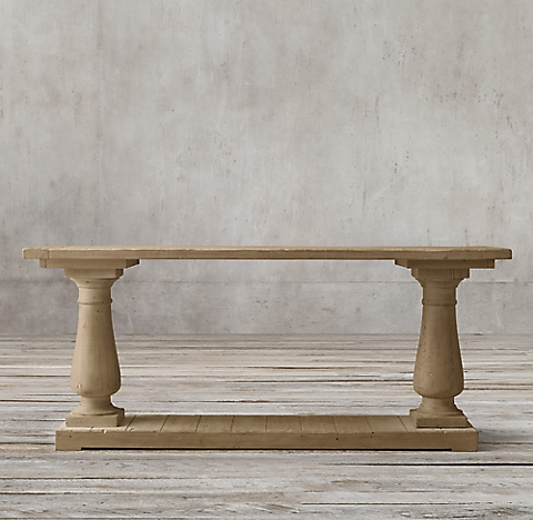 More Sizes Finishes Barade Salvaged Wood Console Table