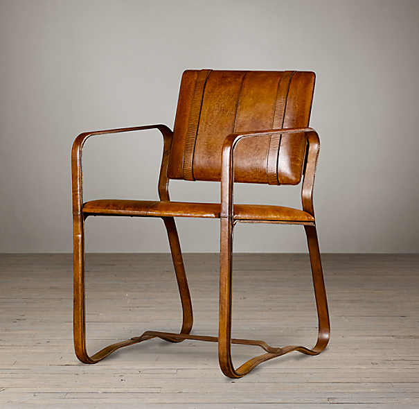 Restoration Hardware Chairs: Antiqued Chestnut