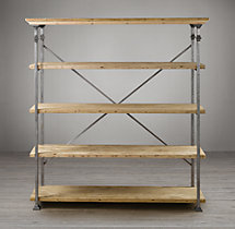 Salvage Baker's Rack