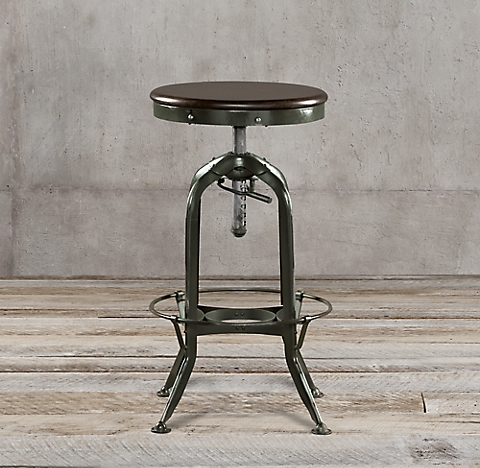 7 finishes Vintage Toledo Barstool