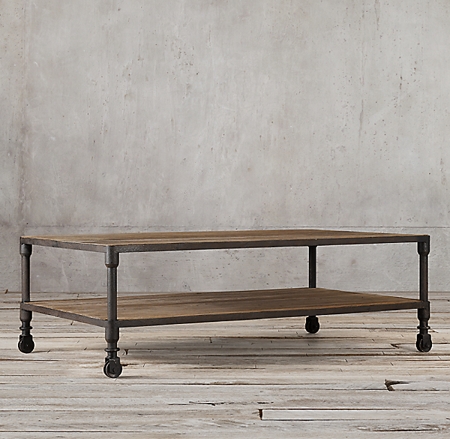 Dutch Industrial Coffee Table Home Design