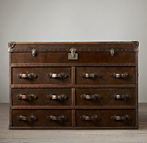 Mayfair Steamer Trunk Double Chest