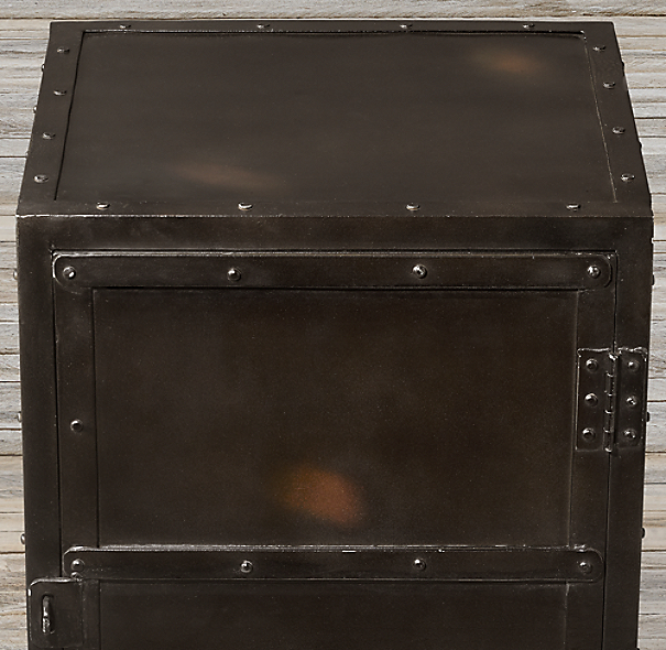 Industrial Tool Chest Side Table