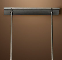 Sloane Rectangular Chandelier Extension Rod