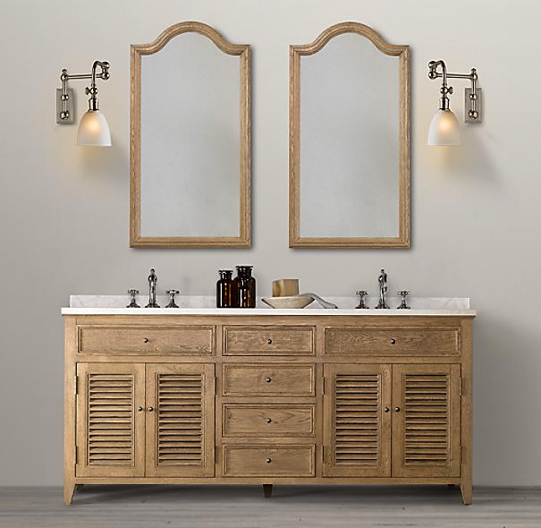 shutter double vanity. Black Bedroom Furniture Sets. Home Design Ideas
