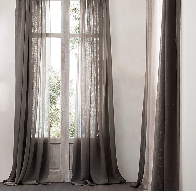 barn sheer o products pottery drape curtains curtain linen