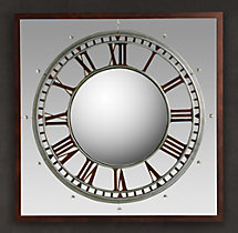 Convex Clock Mirror