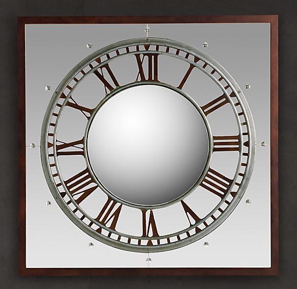 Convex Clock Mirror