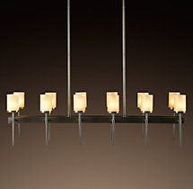 Sloane Rectangular Chandelier 45""