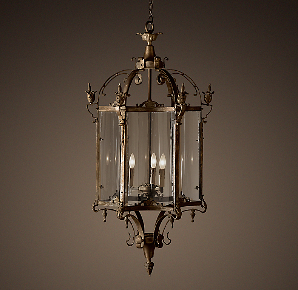 Restoration Hardware Hanging Lamps: 19th C. Salerno Streetlight Pendant