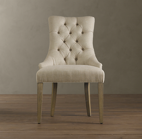 Restoration Hardware Dining Chairs: Martine Upholstered Dining Chair (Set Of 2 Arm And 4 Side