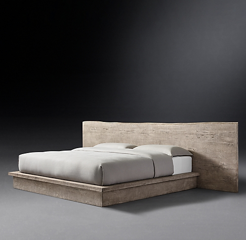 . All Wood Beds   RH Modern