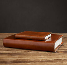 Artisan Leather Photo Journals - Chestnut