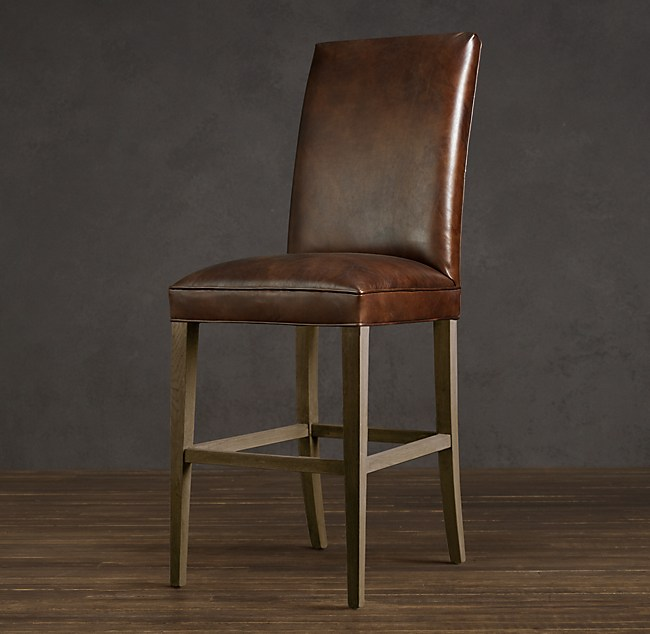 Hudson Parsons Leather Stool