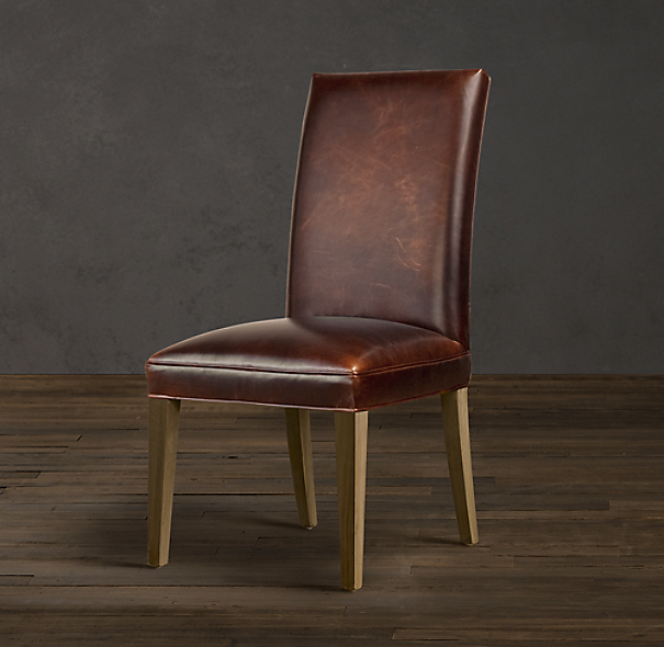 Hudson Parsons Leather Side Chair