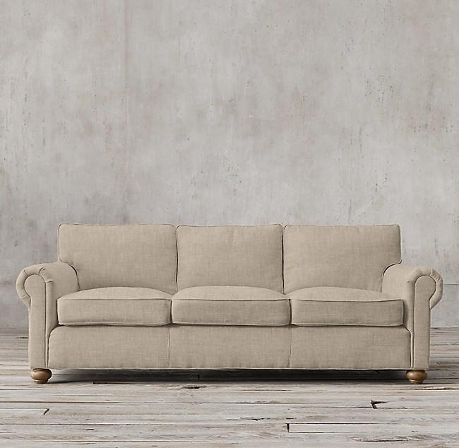 Original Lancaster Upholstered Sofa