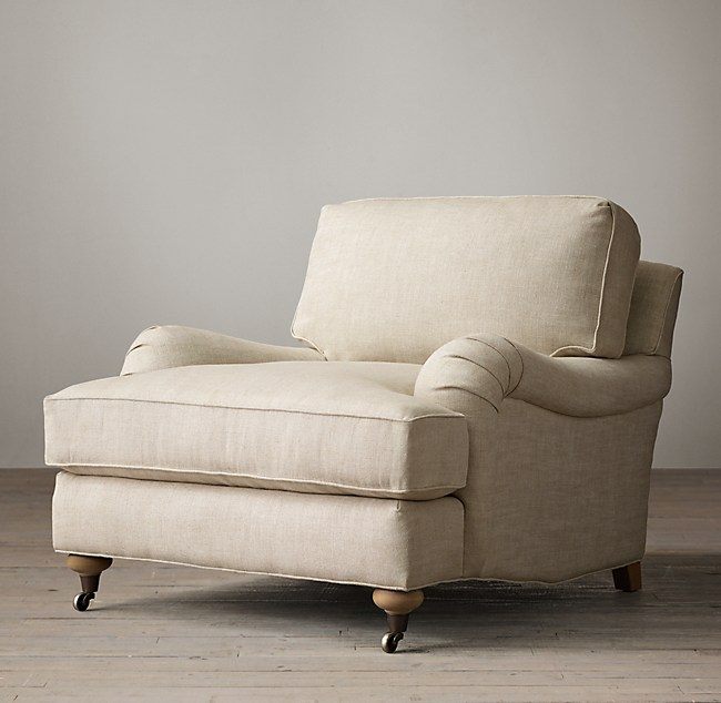 Favorite English Roll Arm Chair GW09