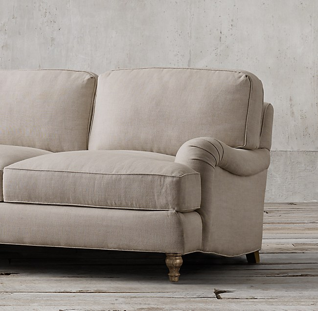 96 Quot English Roll Arm Sleeper Sofa